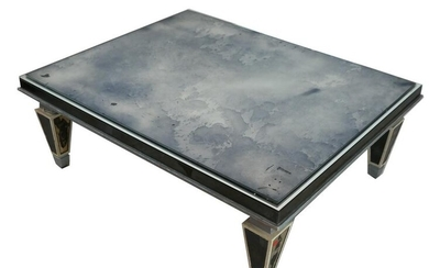 Mirror Top Cocktail Table