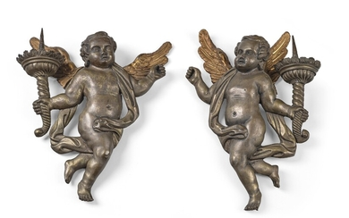 A Pair of Wall Appliques