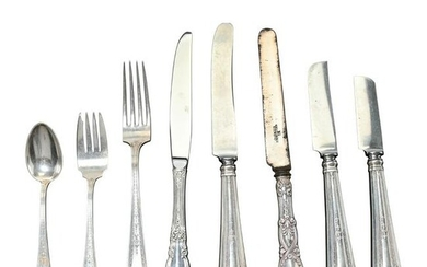 Tiffany and Durgin Sterling Flatware.