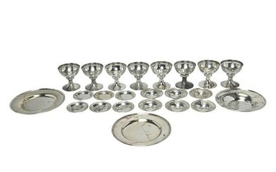 Webster Sterling Silver Sherbet Bowls with Small