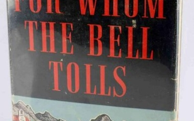 1ST ED ERNEST HEMINGWAY FOR WHOM THE BELL TOLLS