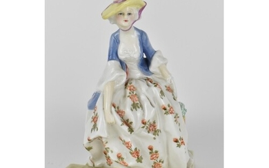 A Royal Worcester porcelain figure of Lady Bountiful, No 309...