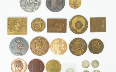 A collection of various medals