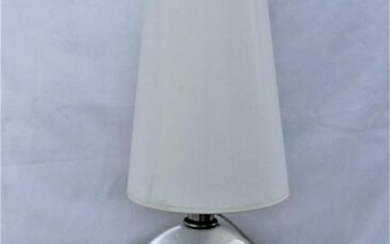 Art Deco/ Modern Lamp , Glass Sphere ,Special shade