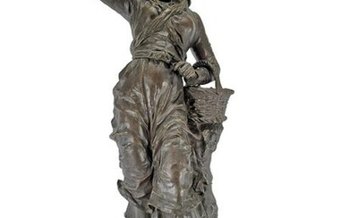 Charles ANFRIE (1833-1905) French bronze statue