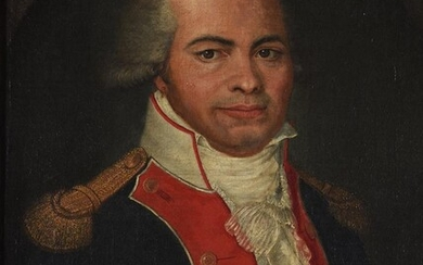 FRENCH COLONIAL SCHOOL (CIRCA 1800), PORTRAIT OF AN OFFICER IN UNIFORM