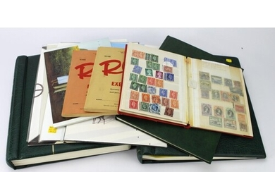 GB - two printed hingeless Lighthouse Albums, 1840 to 1979. ...