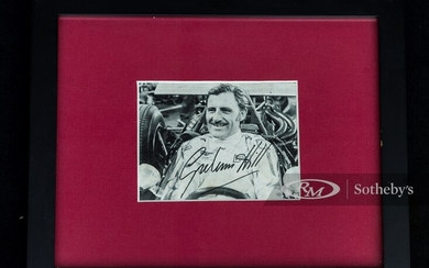 Graham Hill Signed Photograph