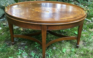 Marquetry Inlaid Coffee Table