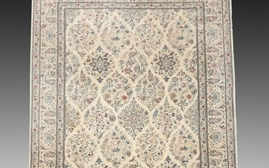"""PERSIAN FINELY HK WOOL RUG 6'7"""" x 10'3"""""""