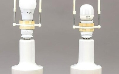 Pair of table lamps, Royal Cop