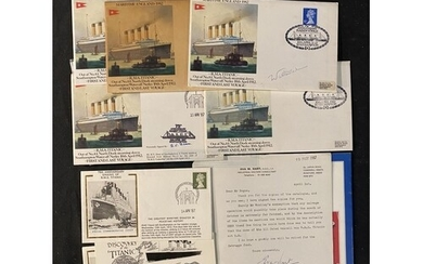 R.M.S. TITANIC: First day covers and other ephemera, some si...