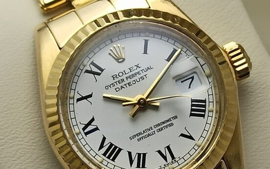 Rolex - Oyster Perpetual Date Just - 6917 - Women - 1980-1989
