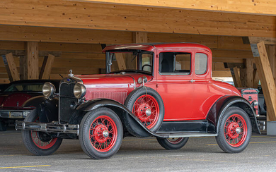1930 Ford Model A Coupé, Chassis no. 3933045