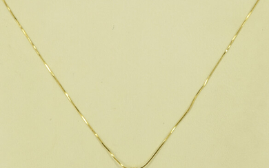 A 9CT GOLD AND KUNZITE PENDANT