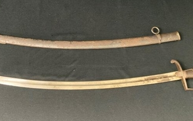 Antique Military Sword - French? Crown Mark