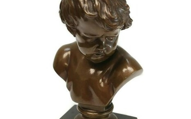 Bronze Bust Barbedienne Foundry