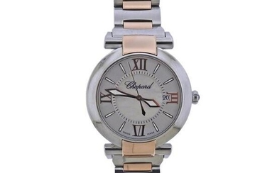 Chopard Imperiale Rose Gold Steel Mother of Pearl Watch