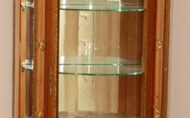 FRENCH VERNI MARTIN STYLE HAND PAINTED AND GILDED CURIO
