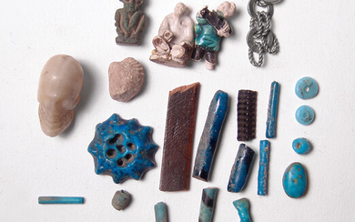 Interesting collection of ancient and antique fragments