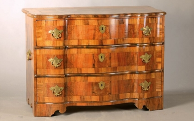 chest of drawers, after baroque model, 20th c.,...