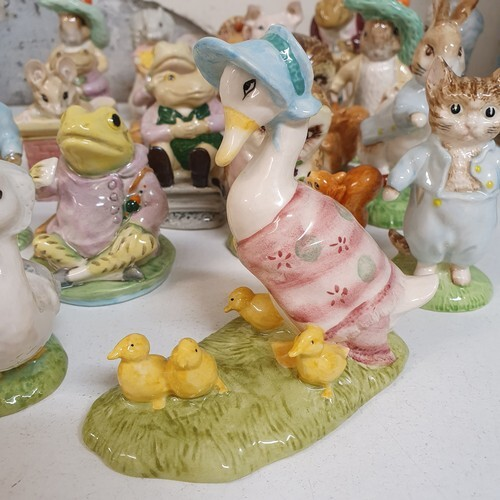 A Beswick Beatrix Potter figure, Jemima and her Ducklings, a...