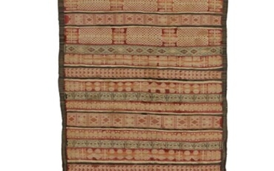 An Anatolian Cicim together with an Azerbaijan kilim and an Indian Dhurrie , early 20th century