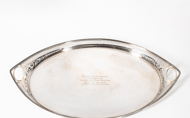 George V Sterling Silver Tea Tray