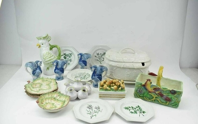 Group of Assorted Italian Pottery