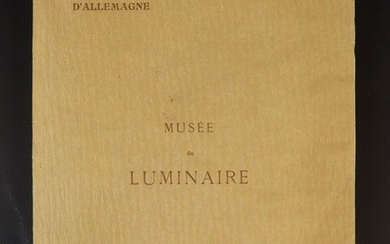 Henry René of Germany. Museum of the luminary at the universal exhibition of 1900. J. Schemit Editor Paris.