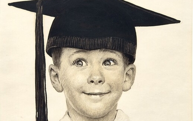 Norman Rockwell, The Young Graduate (Big Day) and The Young Graduate: Two works