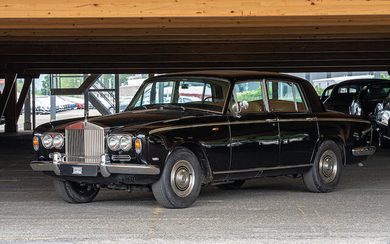 1969 Rolls Royce Silver Shadow Saloon, Chassis no. SRX7072