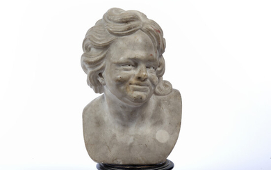 A 19th century marble bust