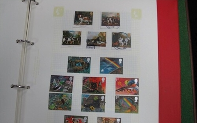 A G.B. Used Collection of Stamps From 1953 to 1990's, ,mostl...