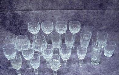 A Waterford Crystal 'Colleen' Pattern Part Table Service, to...