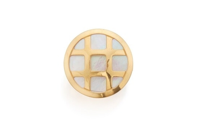 Gold and Mother-of-Pearl Ring, Cartier