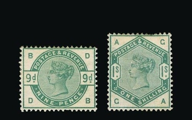 Great Britain - QV (surface printed) : (SG 187-96) 1883-84 l...