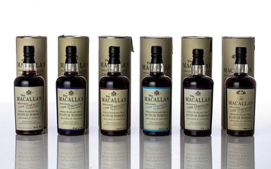 Macallan Unfiltered Cask Strength Set NV (6 BT50)