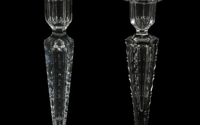 Pair Candlesticks, ABCG, Signed Hawkes