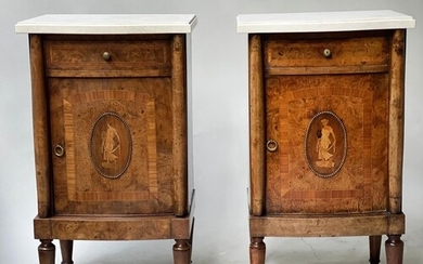 SIDE CABINETS, a pair, late 19th/early 20th century French b...