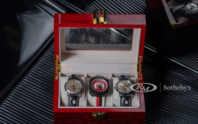 Three Champion Spark Plugs Watches, and Collectables by Timex, ca. late-1960s-early-1970s