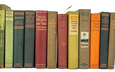20th Century 12 Volume Antiquarian Book Collection