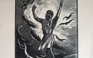 A Collection of 20th Century Wood Engravings including Hester Holman
