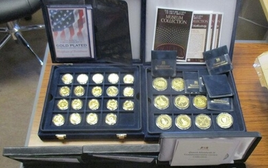 Collection with encapsulated silver proofs FDC GB £5 2009 He...
