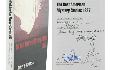 Elmore Leonard and Others Multi-Signed Book