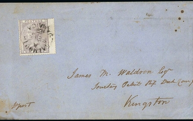 Great Britain Stamps Used in Jamaica Imperial Issues Authorised for Use at Post Towns Prior to...
