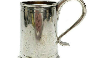 Italian Large Handled 800 Silver Cup c1950