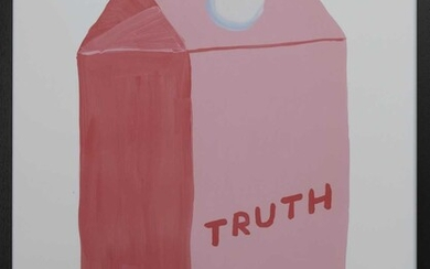 TRUTH, A LITHOGRAPH BY DAVID SHRIGLEY