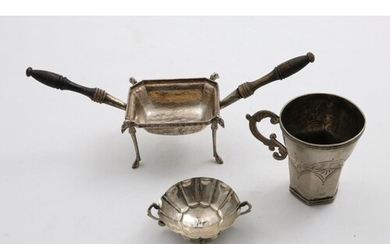 A SMALL LATE 18TH / EARLY 19TH CENTURY SOUTH AMERICAN / HISP...