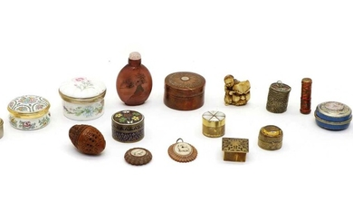 A collection of miniature boxes
